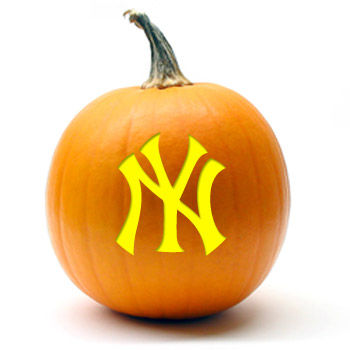 New York Yankees Pumpkin Stencil