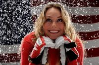 snow falling I Hate Lindsey Vonn