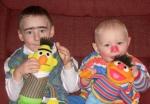 Baby Bert & Ernie