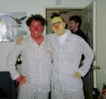 Bert & Ernie in Pajamas