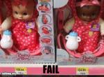Differently Priced Dolls