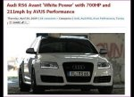 White Power Audi
