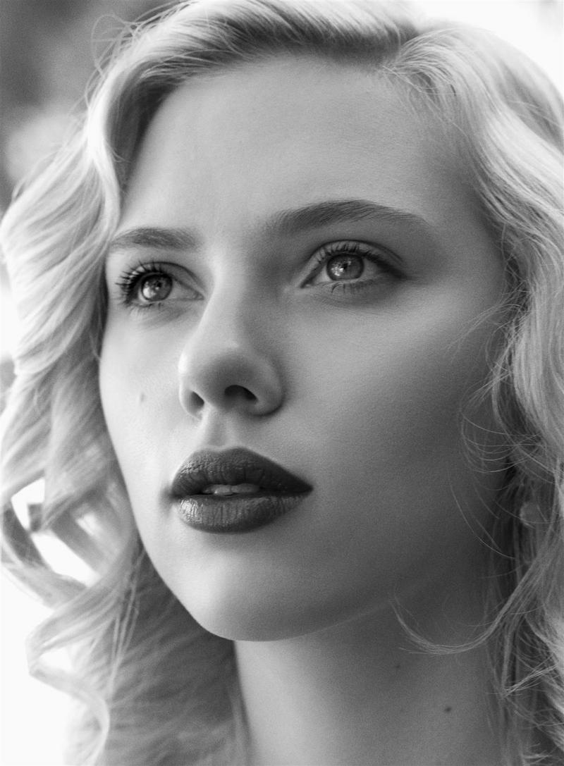 Black And White Face Portraits Black Amp White Face Scarlett