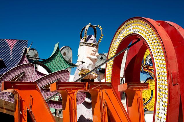 las vegas signage. The Old Las Vegas Signs