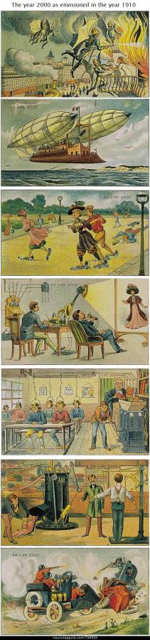 The Year 2000 as envisioned in 1910